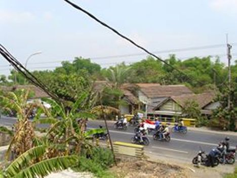Buruh berangkat demo di NIP Mojokerto. (Foto koleksi pribadi)