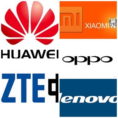 Logo HP merek Cina.