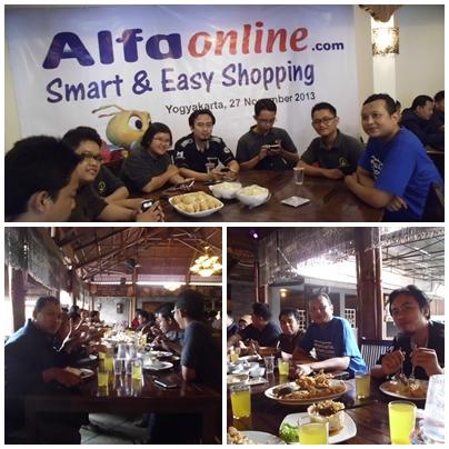 KBJ hadir di Gathering Alfaonline. (Foto koleksi pribadi)