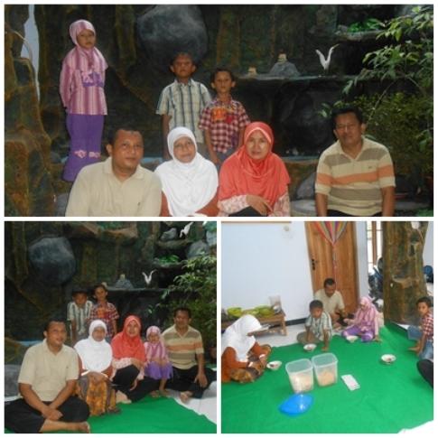 Jamuan makan di rumah Bu Ayu (nggak pakai Ting Ting).