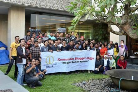 Kopdar KBJ di Hotel Grand Aston Jogjakarta 2013 lalu. (Foto koleksi KBJ)