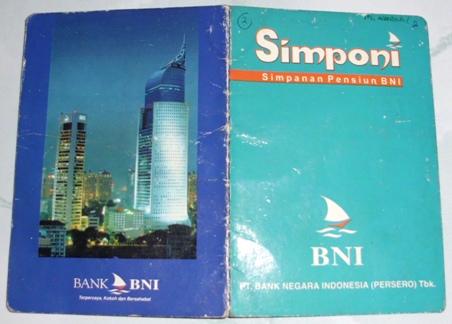 Cover Buku BNI Simponi.