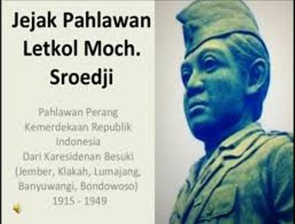 Patung Sroedji (Cortesy of letkolmochsroedji dot com).