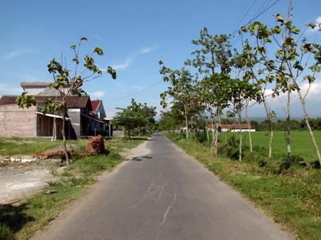 Jalan awal 800 meter yang mulus. (Foto koleksi pribadi)