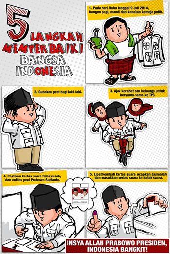 Ingat 9 Juli nati ya.... (Capture gambar koleksi FB Prabowo Subianto)