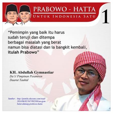 Gambar koleksi Forum Indonesia Raya 2014 Dukung Prabowo.