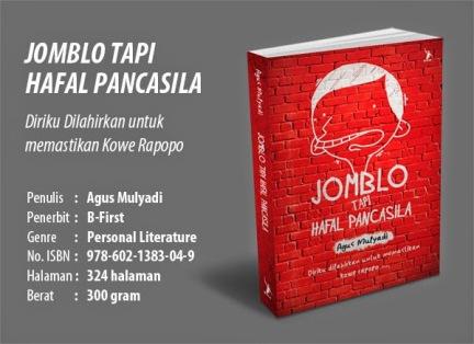 Buku keren 'Jomblo tapi Hafal Pancasila'.