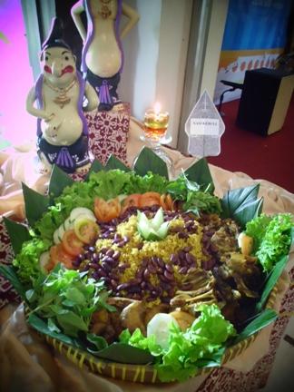 Satu diantara 2 sajian baru Cupuwatu Resto, Nasi Kebuli Malon.