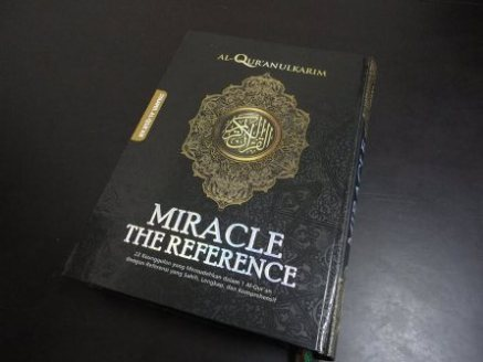 Cover Al-Qur'an Miracle The Reference 22 in 1.