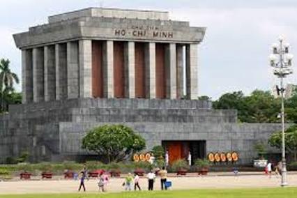 Mausoleum, ikon Vietnam di Ho Chi Minh City. (Foto intempatwisata.com)