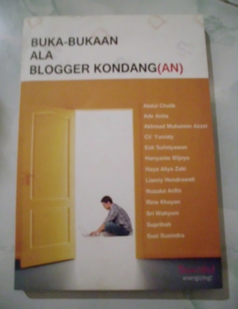 Tips rajin ngeblog, tersaji di buku berkualitas ini. (dok. pribadi)