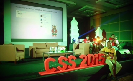 Partisipasi di CSS 2015 Jogjakarta. (dok. pribadi)