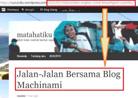 Skrinsut link artikel ke-dua yg ternyata berbeda isinya. (dok. pribadi)