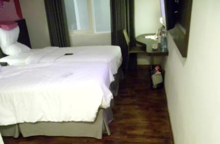 Kamar tipe superior double bed yg saya huni. (dok pribadi)