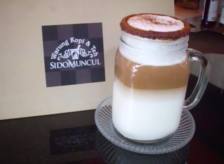 'Coffee Latte' salah satu minuman andalan yg sungguh nyam-nyam. (dok. pribadi)