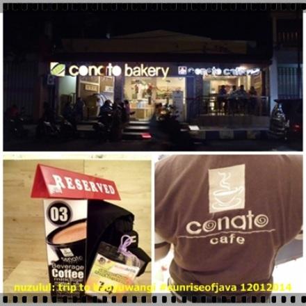 Conato Bakery, cafe terkeren di Genteng Banyuwangi. (dok. pribadi)