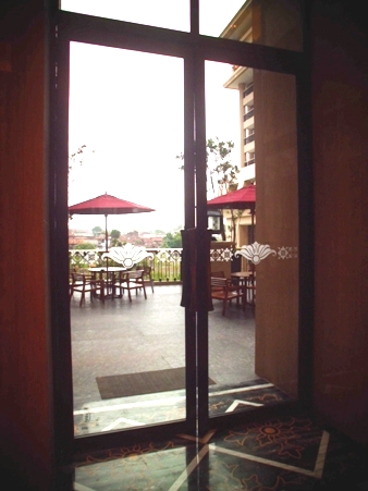 Selamat datang di Warkop & Teh Sidomuncul Hotel Tentrem. (dok. pribadi)
